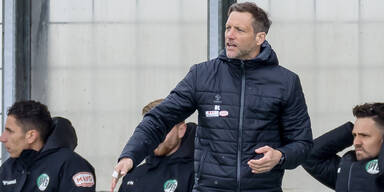 Trainer Rolf Landerl (VfB Lübeck)