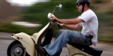 Flucht von Mopedfahrer (15) wurde zum Horror-Trip