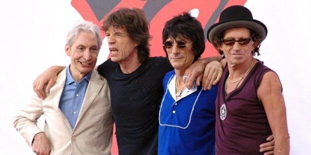 Mick Jagger rockt vor Weißem Haus