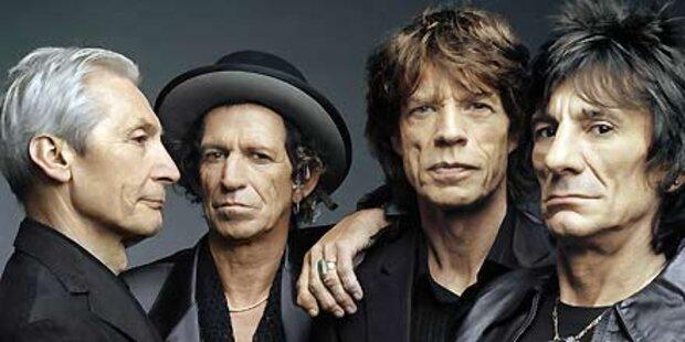 Stones mit neuen Hits am Weg nach Cannes