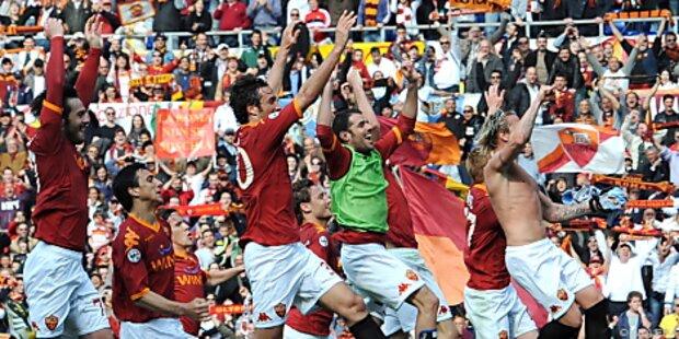 AS Roma stürzte Inter und träumt vom