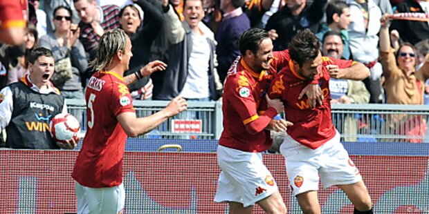 AS Roma löste Inter an der Spitze der Serie A ab