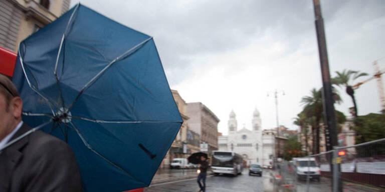 Verheerendes Unwetter in Rom: 1 Toter