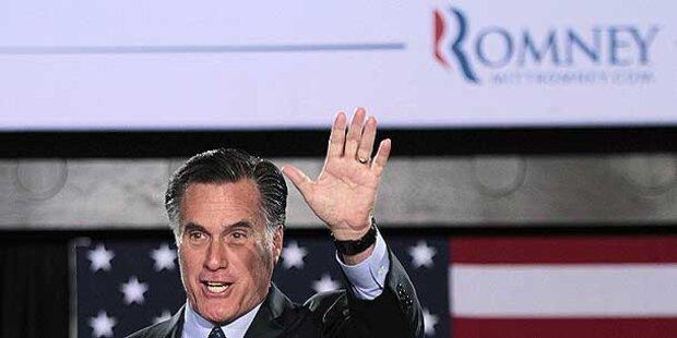 Mitt Romney: Kandidatur in der Tasche