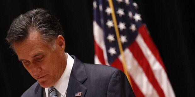 Romney vor Wahl-Debakel