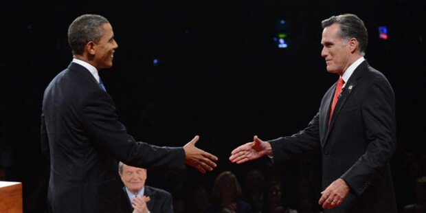 TV-Duell: Romney siegt gegen Obama