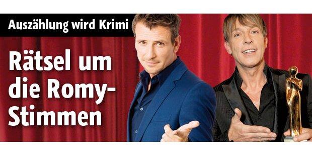 Heinzl: Rätsel um Romy-Stimmzettel