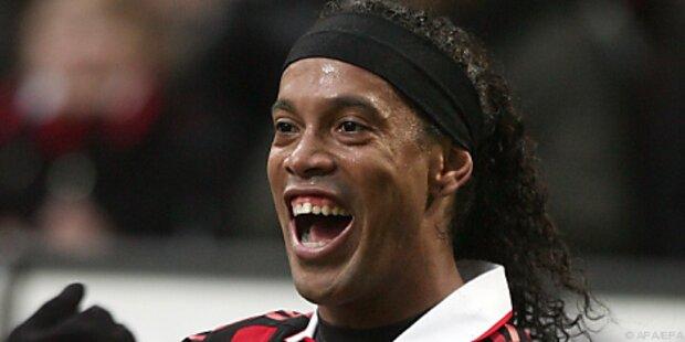 Ronaldinho nicht im Kader für Irland-Spiel