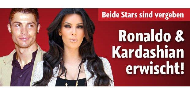 Ronaldo und Kardashian: Erwischt!