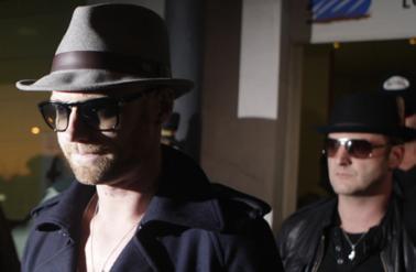 Ronan Keating & Mikey Graham: Ankunft auf Mallorca