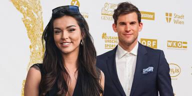 Neue Freundin: Dominic Thiem und Roncalli-Tochter Lili Paul sind ein Paar