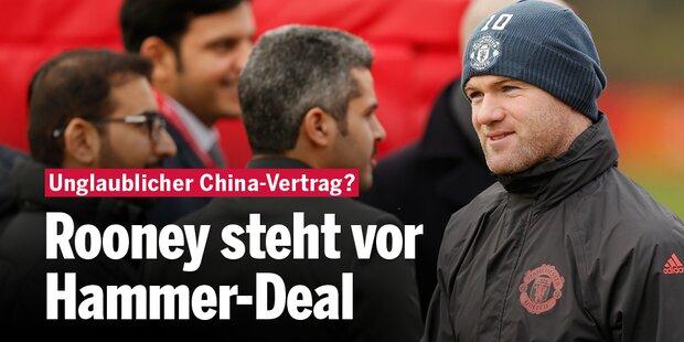 Rooney vor Hammer-Deal in China