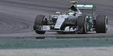 Rosberg triumphiert in Brasilien