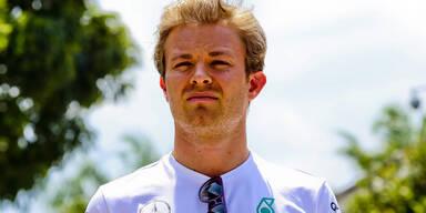Darum trägt Rosberg eine Damenbinde