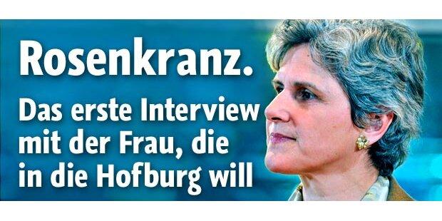 Hofburg-Wahl: Rosenkranz tritt an