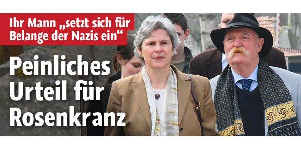 Horst Jakob Rosenkranz: Peinliches Urteil