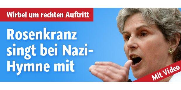 Rosenkranz sang Nazi-Hymne mit