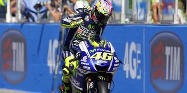 MotoGP: Rossi triumphiert in Misano