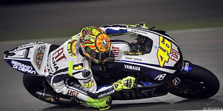 Rossi hatte in Katar gewonnen