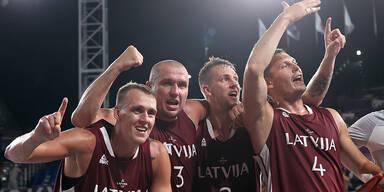 Österreicher unterliegen knapp den Olympia-Siegern