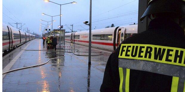 Feuer: ICE auf dem Weg nach Wien evakuiert