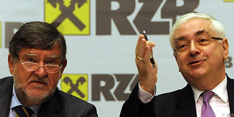 RZB und Raiffeisen Int. basteln weiter an Fusion