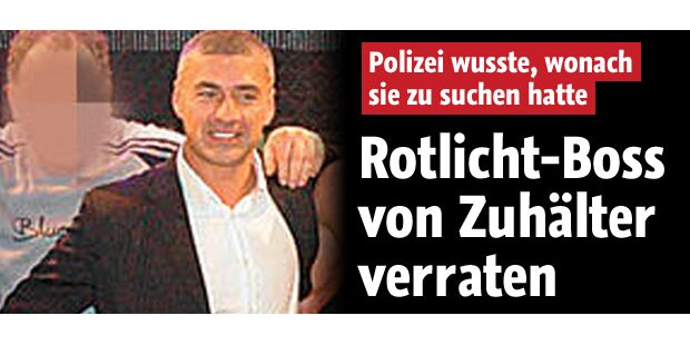 Zuhälter verriet Wiener Rotlicht-Boss