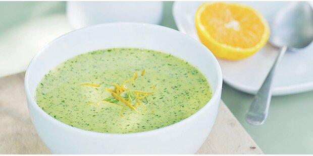 Kalte Suppen für über 30 Grad