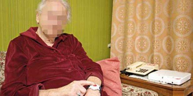 94-Jährige in letzter Minute gerettet