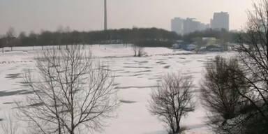 Donau-Schiffstrecken teils wegen Eis gesperrt
