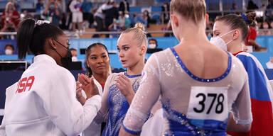Russland entthront US-Turnerinnen im Teamfinale