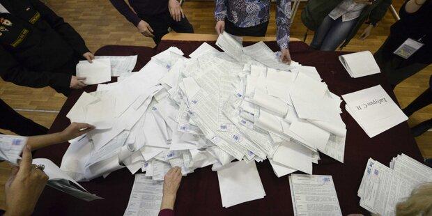 Unregelmäßigkeiten bei Russland-Wahl?