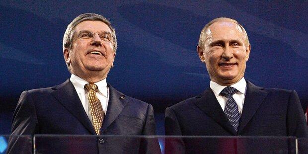 Russland darf zu Olympia