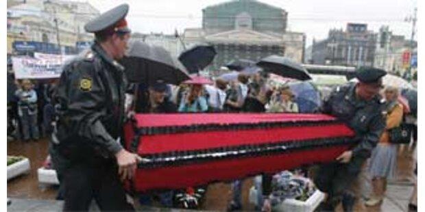 Mehr als 35.000 ungelöste Morde in Russland