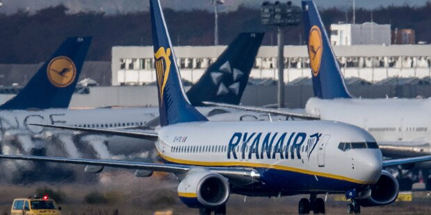 In 5 Ländern: Mega-Streik bei Ryanair