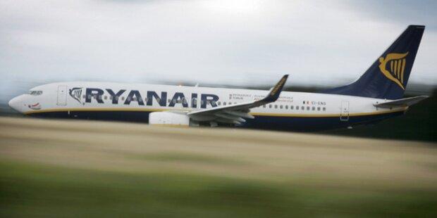 Ryanair-Maschine landet 320 km zu früh
