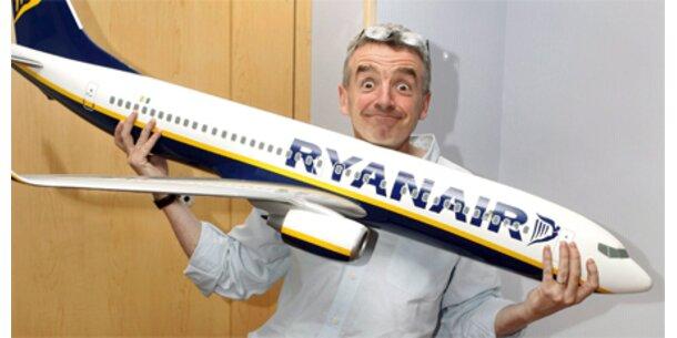 Ryanair wirbt mit Karikatur Berlusconis