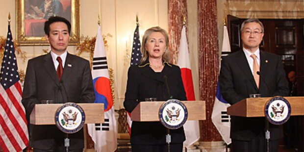 USA, Südkorea & Japan mahnen Nordkorea ab