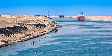 Suezkanal: Normalisierung im Schiffsverkehr dauert an
