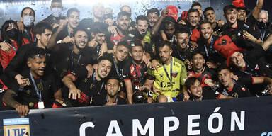 Atletico Colon gewinnt argentinische Meisterschaft