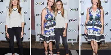 Kristin Davis & Sarah Jessica Parker