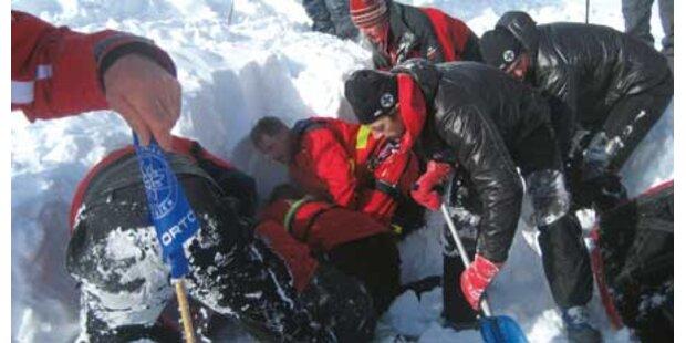 Zwei Tote bei Lawinenabgang in Vorarlberg