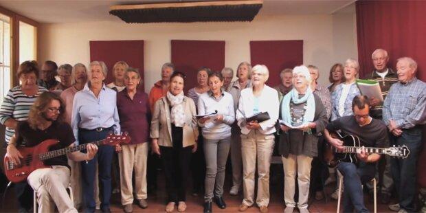 Senioren-Chor singt Ärzte-Hit gegen Fremdenhass