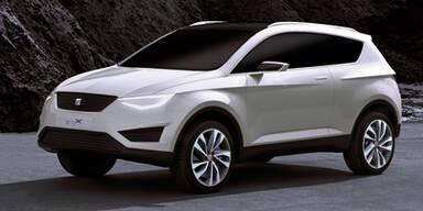 Seat IBX Concept und Alhambra Allrad