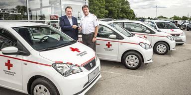 100 neue Seat Mii für das Rote Kreuz NÖ