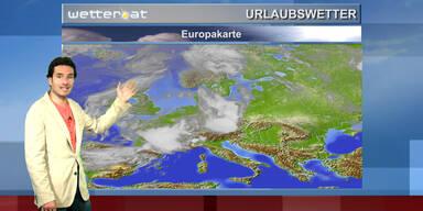 Europa-Reisewetter
