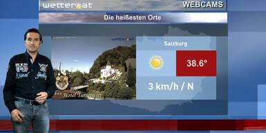 Die heißesten Orte Österreichs