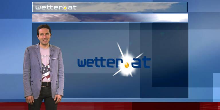 Das Wetter am Vormittag: Im Westen starker Regen