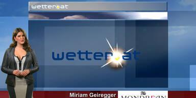 Das Wetter am Vormittag: Hoch Karin beschert uns Sonne