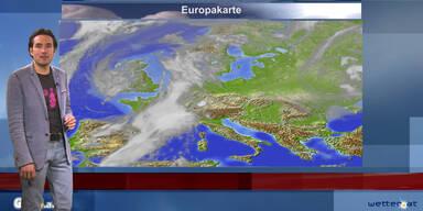 Das Wetter am Vormittag: Bewölkt und regnerisch